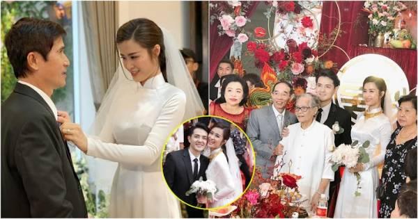 Ba mẹ Ông Cao Thắng xúc động: 'Cám ơn nhà gái đã cho chúng tôi đứa con dâu giỏi giang, tuyệt vời như Đông Nhi'